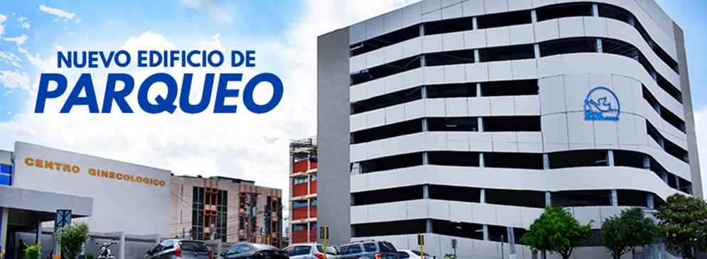 Inauguración del Edificio de Estacionamientos