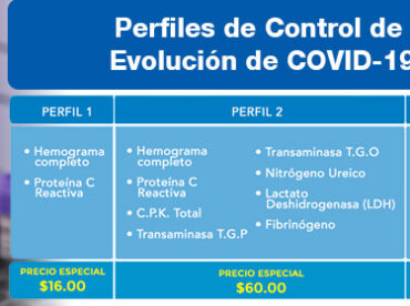 Perfiles de Control de Evolución de COVID-19