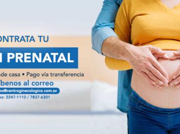 Contrata tu plan prenatal