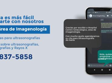 Whatsapp área de imagenología