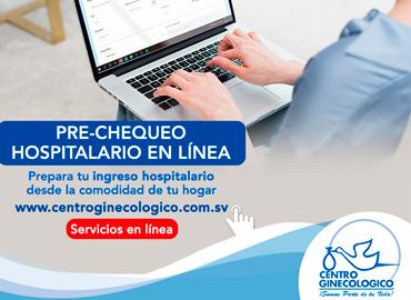 Nuevo Servicio de Pre-Chequeo en Línea