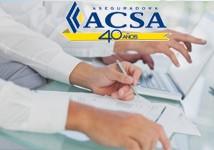ACSA Formulario de reembolso de gastos seguro médico hospitalario