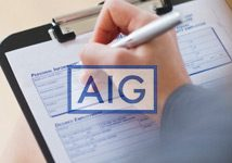 AIG formulario de reclamación proveedores