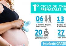 1º Ciclo de Charlas Prenatales
